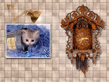 Large screenshot for Parallaxis Cuckoo Clock.