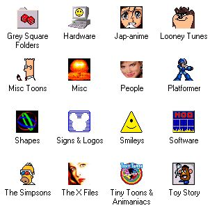 Large screenshot for Happy Icons 98.