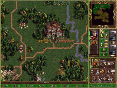 Large screenshot for Heros Of Might And Magic III.