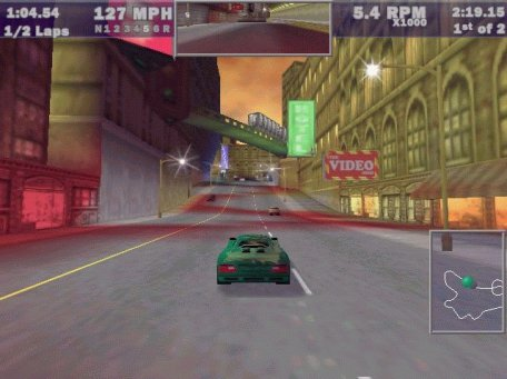 Large screenshot for Need For Speed III - Hot Pursuit.