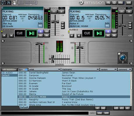 Large screenshot for PCDJ Home.