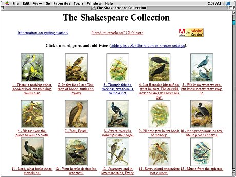 Large screenshot for The Shakespeare Collection.