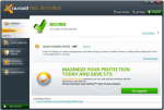 Small screenshot for Avast Free Antivirus.