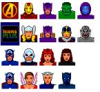 Small screenshot for Avenger Icons Vol. 1.