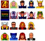 Small screenshot for Avenger Icons Vol. 2.