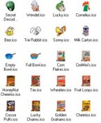 Small screenshot for Cereal Icons.