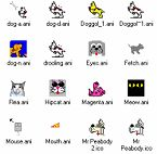 Small screenshot for Dog And Cat Cursor Collection.