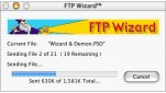 Small screenshot for FTP Wizard.