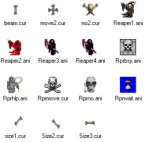Small screenshot for Grim Reapers Animated Cursor Set (ocean).