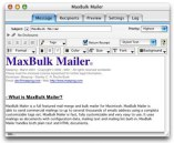 Small screenshot for MaxBulk Mailer.