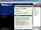 Small screenshot for Microsoft Money 99 Financial Suite.