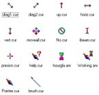 Small screenshot for Rainbow Cursors.