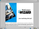 Small screenshot for WebContact Wizard.